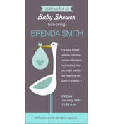 Baby Shower Card L