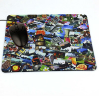 Mouse Pad Rectangle Shape size 235mm x 196mm x 3mm thick.  code: MP235R