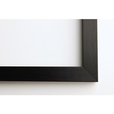A4 Framed Print Horizontal - 20mm Black Frame