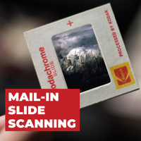 Mail-In Slide Scanning