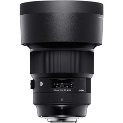 Sigma-105mm F1.4 DG HSM - Sony E-Lenses - SLR & Compact System
