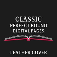 Classic Album : Leather Cover (Perfect Bound, Digital Print)