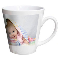 Latte Mug 12oz. Free layout