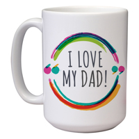15 oz Father's Day Mug (K)