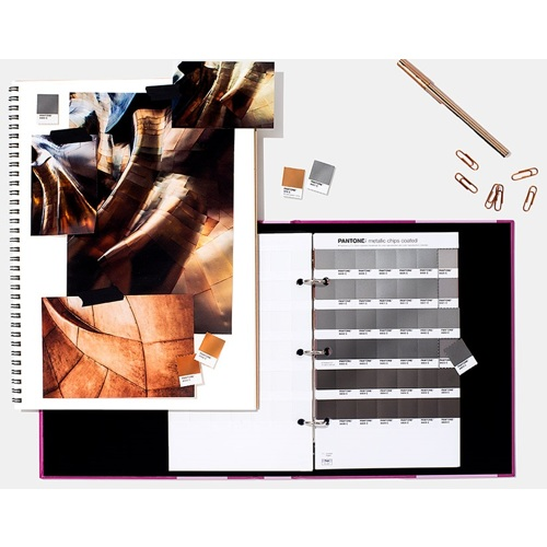 Pantone-Metallic Chips Coated with Paper Chip Saver-Miscellaneous Studio Accessories