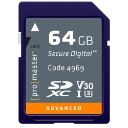 ProMaster-Advanced SDXC 64GB 633X #4969-Memory cards, tape and discs