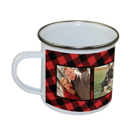 Camper Mug (plaid)
