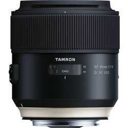 Tamron-SP 85mm F1.8 Di VC USD Model F016 for Canon-Lenses - SLR & Compact System