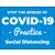 8.5 x 11 Covid-19 Poster A3