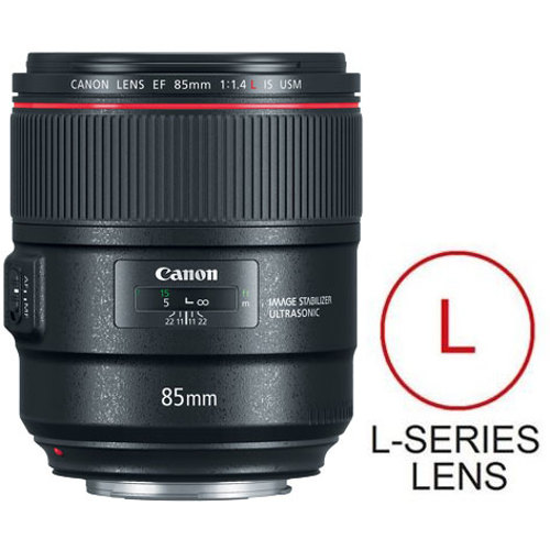 Canon-EF 85mm F1.4L IS USM-Lenses - SLR & Compact System