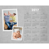 Magnet Calendar (17-04 H)