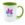 Colour mug 11oz Green. Free layout - SM05GR