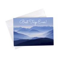 5x7 Stationery Card RdCnr - Set of 1