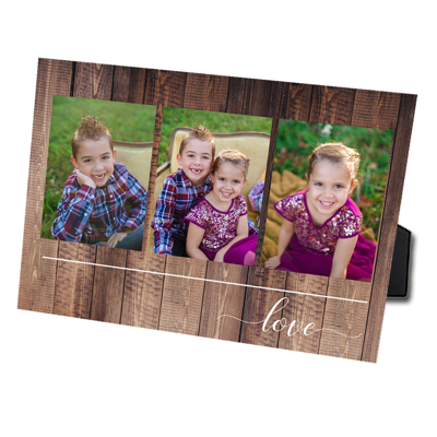 Love Photo Easel 8x10