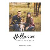 5x7 Hello 2021