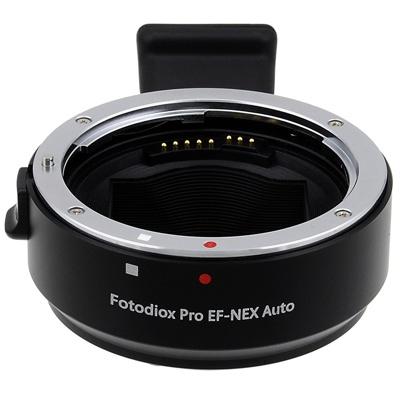 Fotodiox-Canon EOS Lens to Sony-NEX P #EOS(AUTO)-NEX-P-Lens Converters & Adapters