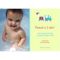 Cartes d'invitations ou remerciements Bébé