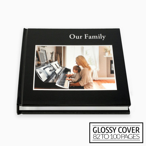 8x8 Classic Image Wrap Hard Cover / Glossy Cover (82-100 pages)