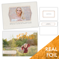 Adorn<br>5x7 Foil<br>Double Sided