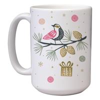 15 oz Christmas Mug (A3) Wrap