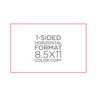 """8.5"""" x 11"""" Color Copies"""