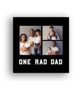8x8 Dad Metal Collage - 33