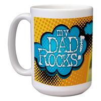15 oz Ceramic Mug (Dad H)