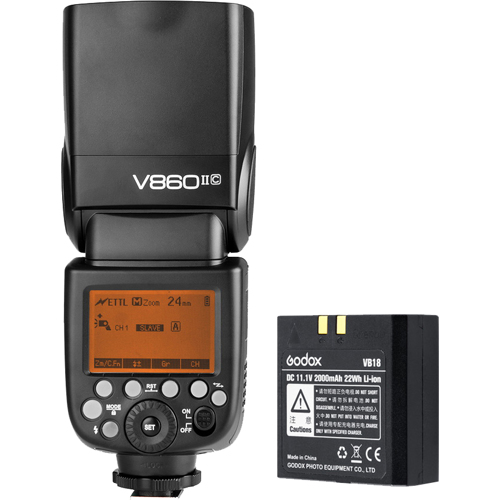 Godox-Ving V860IIC TTL Li-Ion Kit for Canon-Flashes and Speedlights