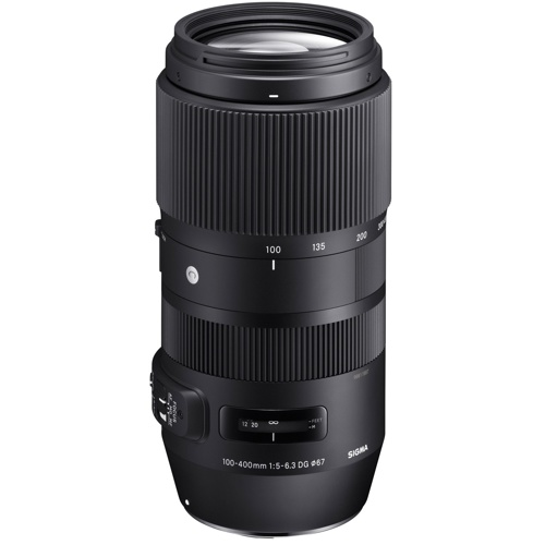 Sigma-100-400mm F5-6.3 DG OS HSM Contemporary for Nikon-Lenses - SLR & Compact System