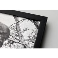 400x600mm Framed Metal Print - Black 20mm Frame - Horizontal
