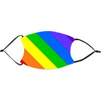 Bold Rainbow Face Mask