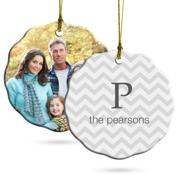 PG Ornament Ceramic - Scallop