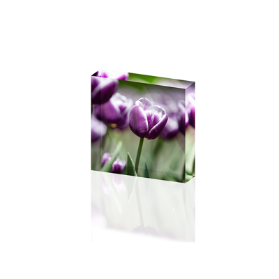 6x6 - Bloc acrylique