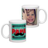 White Coffee Mug 11oz (wrap) Dad-G