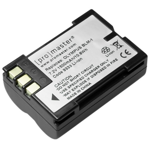 ProMaster-BLM-1 XtraPower Lithium Ion Replacement Battery for Olympus #9333-Battery Packs & Adapters