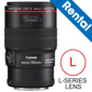 Canon-EF 100MM F2.8L MACRO IS USM Lens (Rental)-DSLR Camera and Lens Rentals