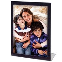 5x7 Vertical L Shape Easel Black Bent Frame