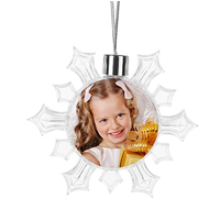Hanging Snowflake Ornament