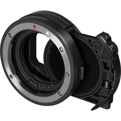 Canon-Drop-in Filter Mount Adapter EF-EOS R with Drop-in Variable ND Filter-Lens Converters & Adapters