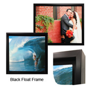 Black Float Frame for Aluminum