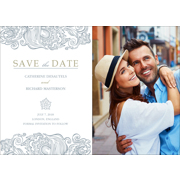 Classy - 1 Sided Save the Date  5x7