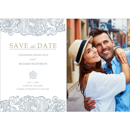 Classy - 1 Sided Save the Date