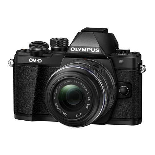 Olympus-E-M10 Mark II OM-D System Camera with 14-42 EZ Lens-Digital Cameras