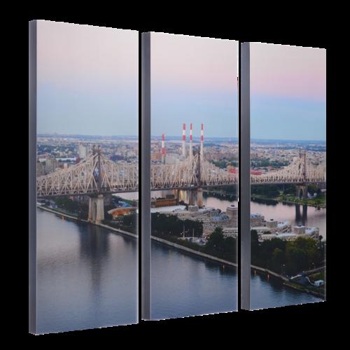 """3-8x20 Premium 1"""" Split Image Blocks"""