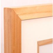 Natural Oak Wood Framed Print