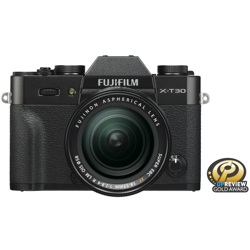 Fujifilm-X-T30 Mirrorless Digital Camera with FUJINON XF 18-55mm F2.8-4.0 R Lens-Digital Cameras