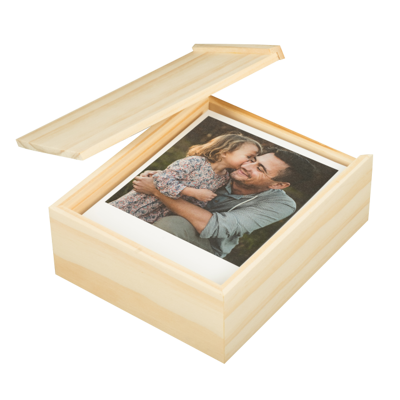 Set of 25 Retro Prints press w/ Wooden Box