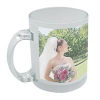 Frosted mug 11oz Free layout - FM01W