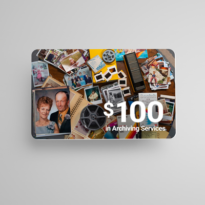 $100 Archiving Gift Card ($75 E-DEAL)