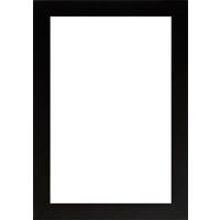 4x6 Vertical Black Wood Frame